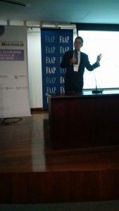 Carlos Kawall, economista-chefe do Banco Safra, em palestra no Backstage do Varejo