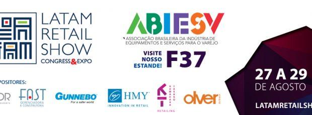 Abiesv estará no LATAM Retail Show com seis associados
