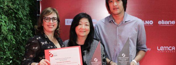 Cinco Associados da Abiesv conquistam ao todo 19 Prêmios de Design de Varejo 2019