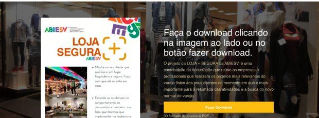 Abiesv lança projeto 'Loja + Segura' que ajuda o varejista na reabertura do comércio