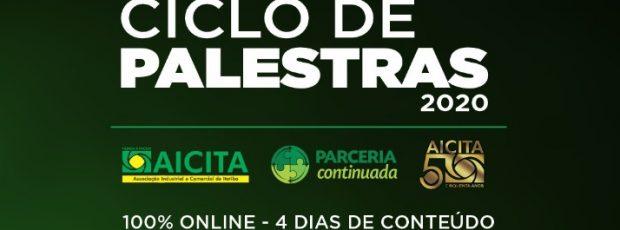 Aicita anuncia Ciclo de Palestras virtual neste mês