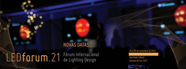 LEDforum – Onde grandes nomes do lighting design se reúnem para discutir conceitos e rumos da iluminação