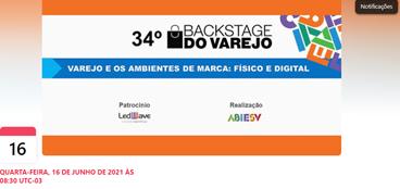 É nessa quarta-feira: 34º Backstage do Varejo sobre experiências no PDV e a integração do online e o offline