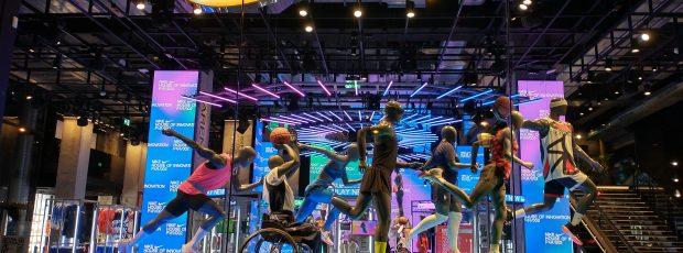 Novas lojas — multimídia e artística– da Nike e Uniqlo, em Paris